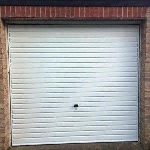 Cheap garage door steel merlin canopy garage door in white & Cheap garage door steel merlin canopy garage door in white ... Pezcame.Com