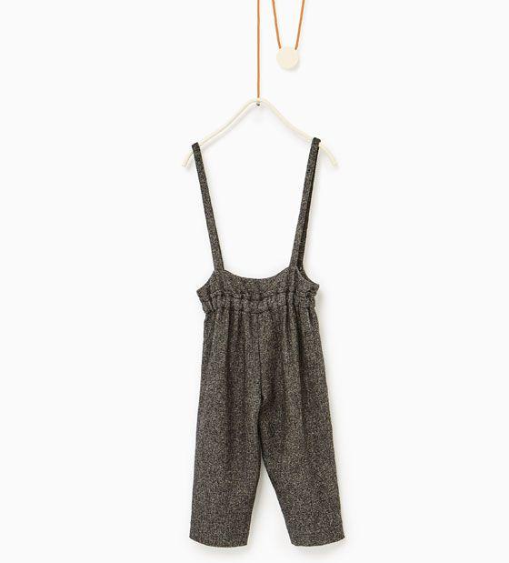 Imaxe 2 de Pantalón tirantes de Zara