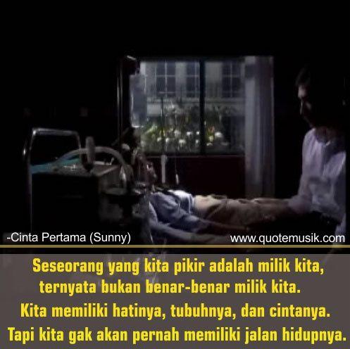 Dp Bbm Kutipan Film Cinta Pertama Sunny Kutipan Film