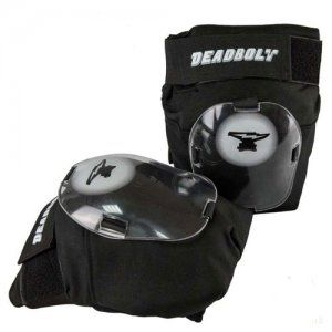 Deadbolt Grand Slam Knee Pads - Black