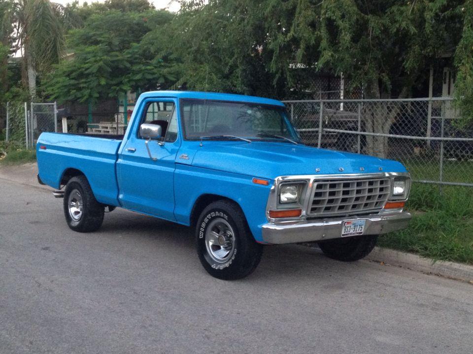 1979 Ford F100 Ford Trucks 1979 Ford Truck Cool Trucks