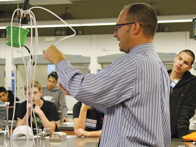 Are you ready? Students get handson look at new careers