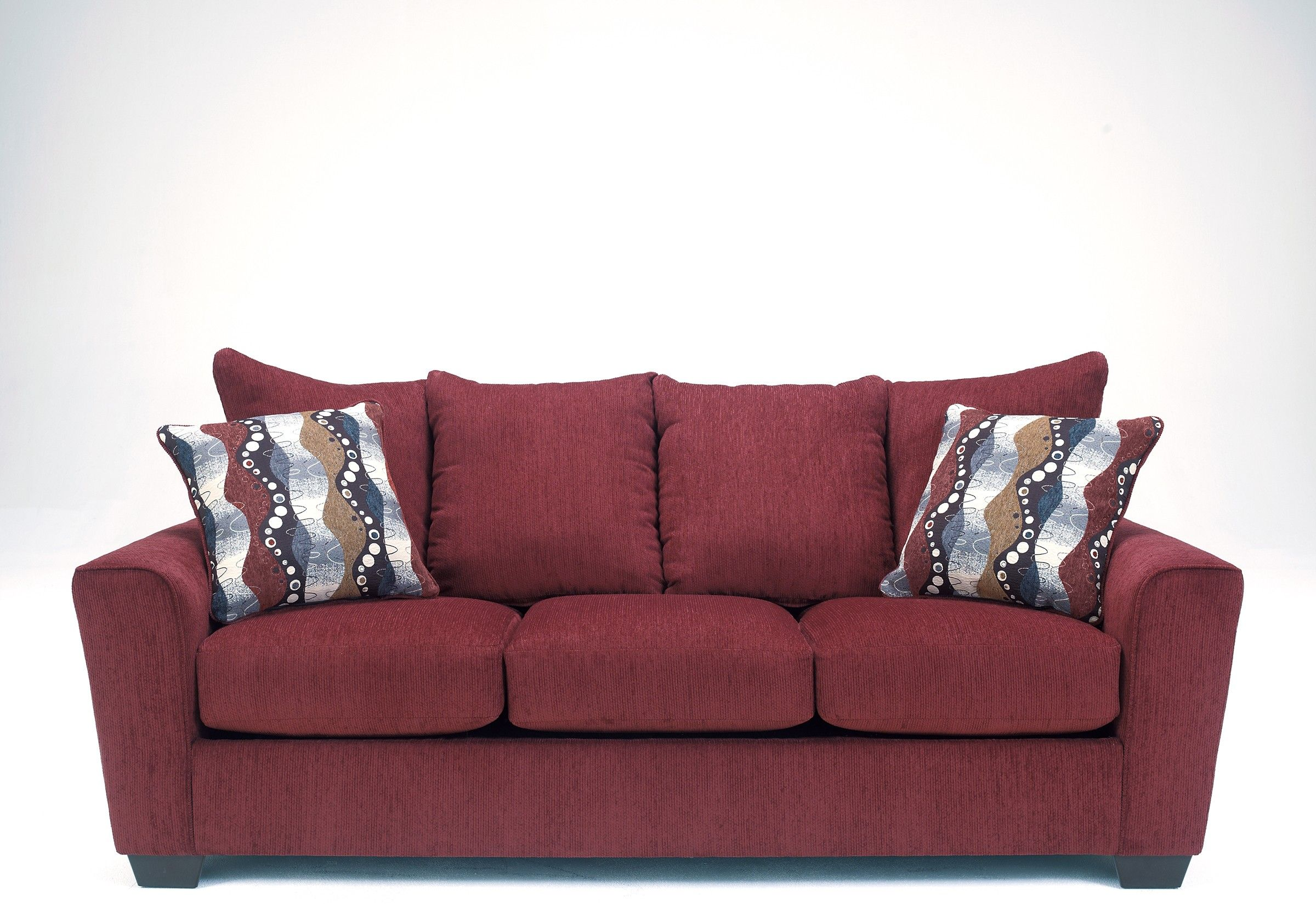 Best Ashley Brogain 2690138 Benchcraft Sofa The Contemporary Style Of Flared Arms Welt Trim And 400 x 300