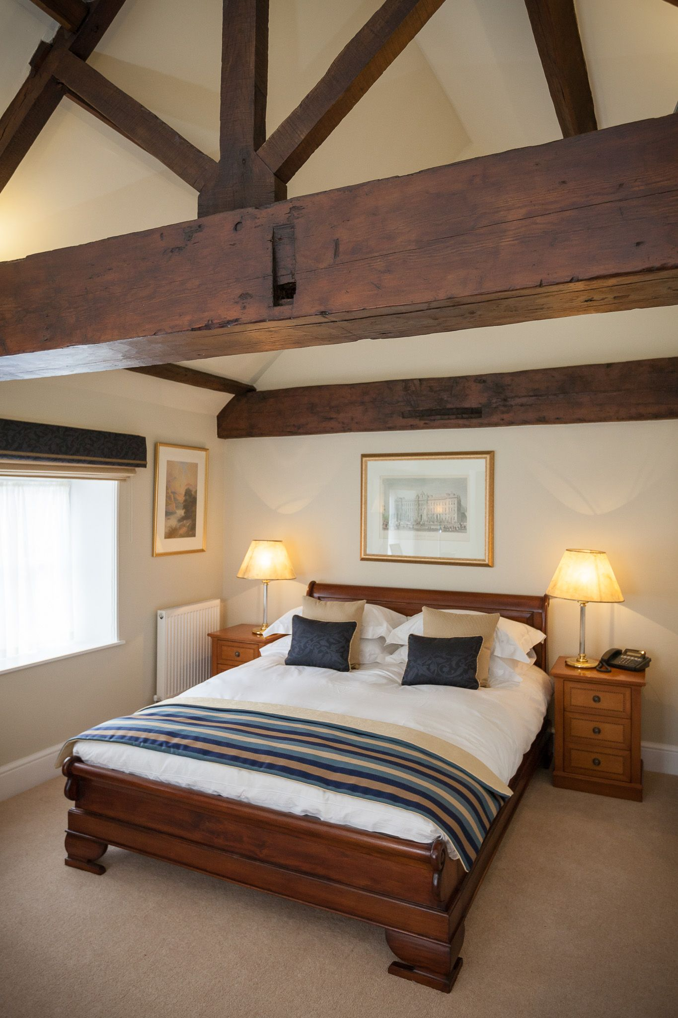 Deluxe rooms at Goldsborough Hall. Image by Peter Boyd Photography