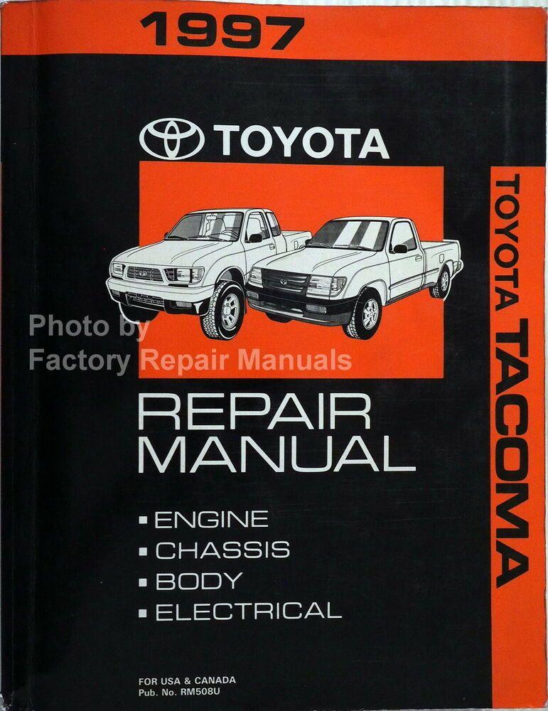 2006 Toyota Tacoma Shop Service Repair Manual Complete Set