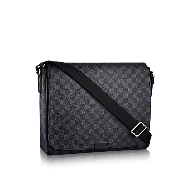 833ecc0e354d6 District MM - Damier Graphite Canvas - Men s Bags