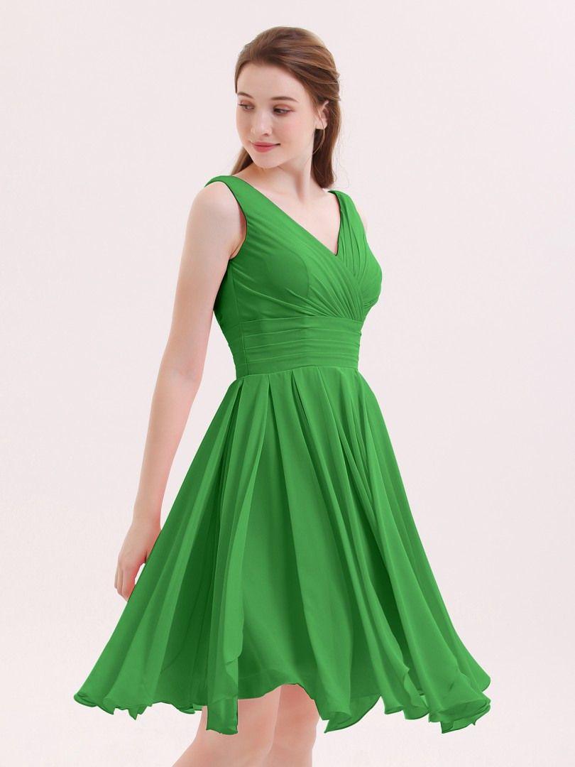 Designer Einfach Kleid Grun Kurz Fur 2019 Kleider Reisekleidung Grunes Kleid