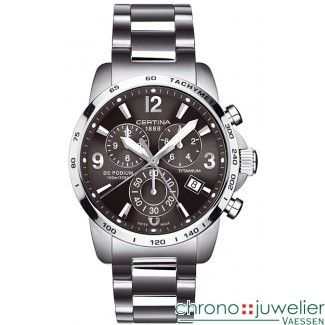 Certina DS Podium Big Size Chronograaf C001.617.44.087.00 www.chronojuwelier.com