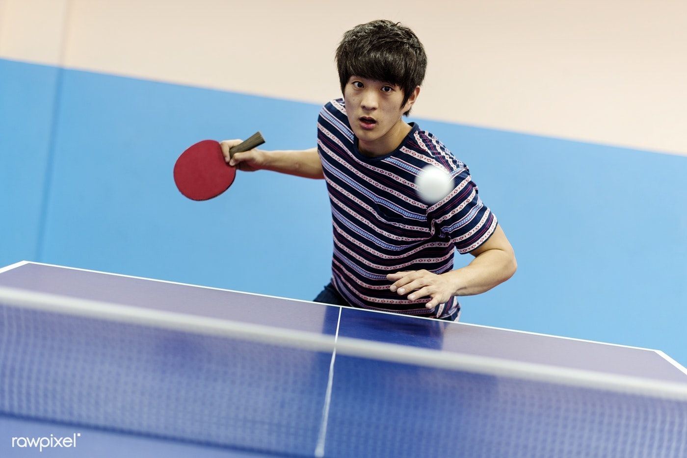 Download Premium Image Of Asian Guy Playing Table Tennis 49530 Table Tennis Ping Pong Asian Men