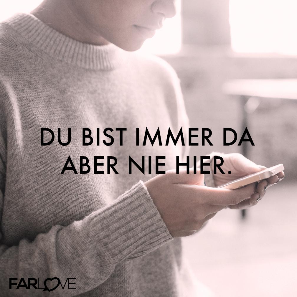 Valentinstag Ideen Fernbeziehung: Du Bist Immer Da Aber Nie Hier. #Fernbeziehung #Vermissen