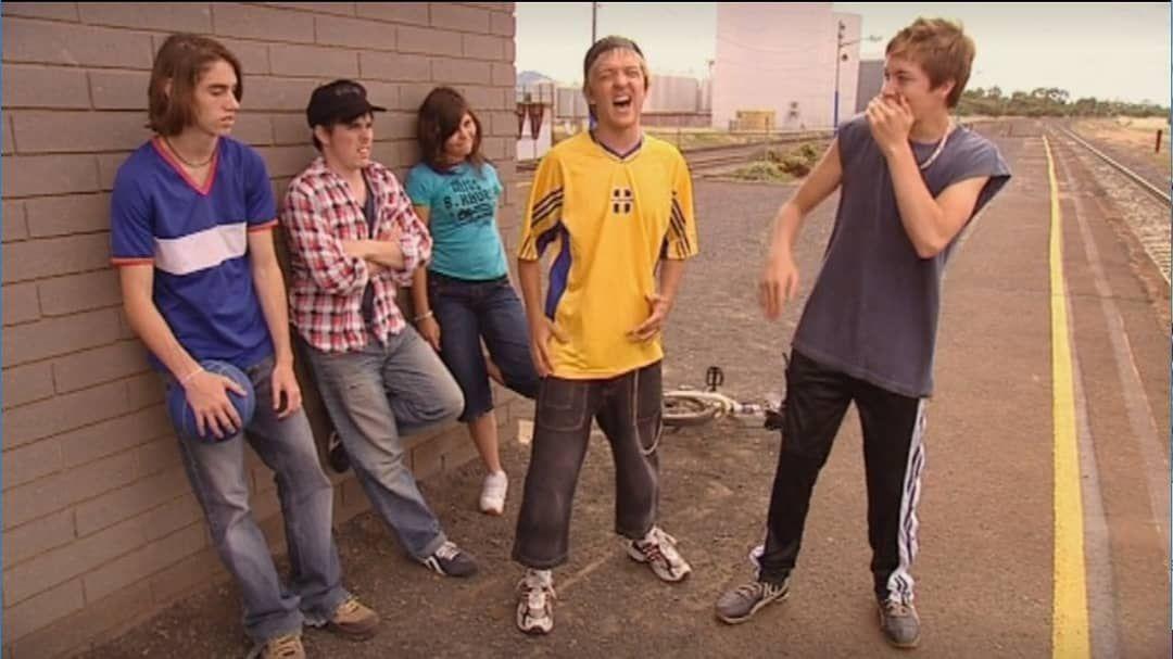Daniel Raps With His Mates At Dunt Train Station Dunt