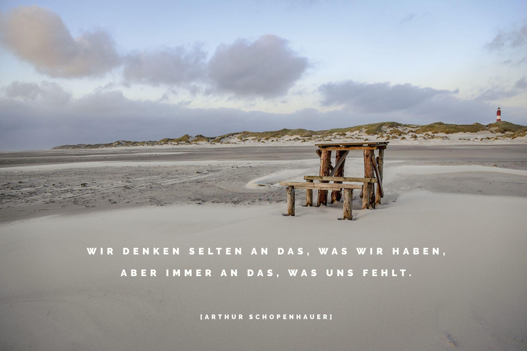 Am Strand Von Amrum Zitate Spruche Weisheiten