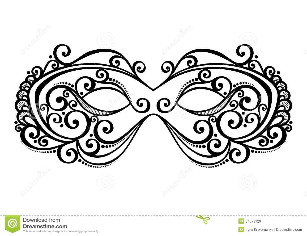 masquerademaskbeautifulvectorpatterneddesign34573129