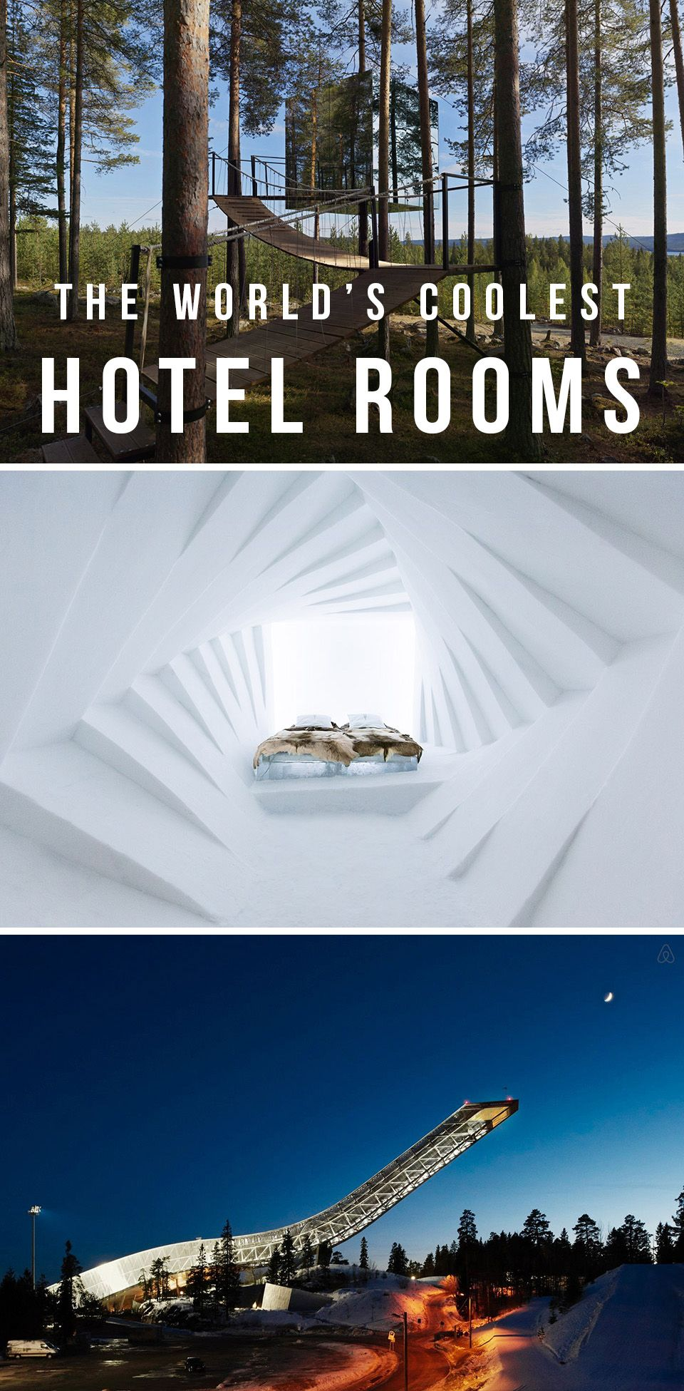 Video these unique hotels don 39 t seem real unusual for 10 unique hotels around the world