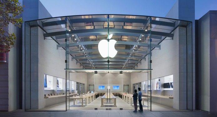 Loja da Apple em Palo Alto (Foto: Divulgação/Apple)
