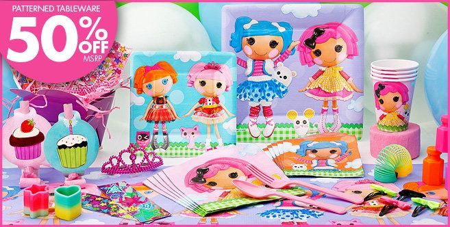 Party City Just Started Carrying These Lalaloopsy Supplies Birthday Decorations