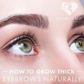 HOW TO GROW THICK EYEBROWS NATURALLY  You have thin and sparse eyebrows and wa  #Eyebro #sparseeyebrows HOW TO GROW THICK EYEBROWS NATURALLY  You have thin and sparse eyebrows and wa  #Eyebro #sparseeyebrows