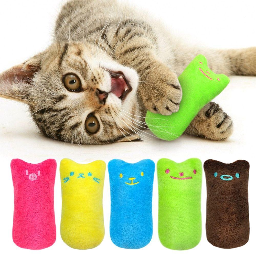 Pet Kitten Chewing Toy Teeth Grinding Catnip Toys Catnip Toys