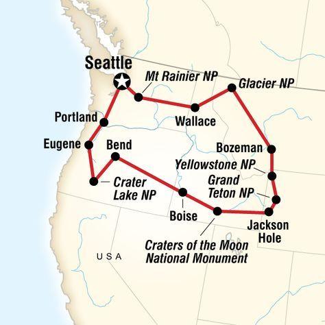 National Parks of the Northwest US | travel | Pinterest | Park ...