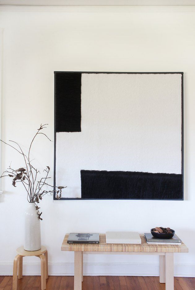 Oversize Textured Wall Art is Easy to Make When You Follow This Tutorial | Hunker