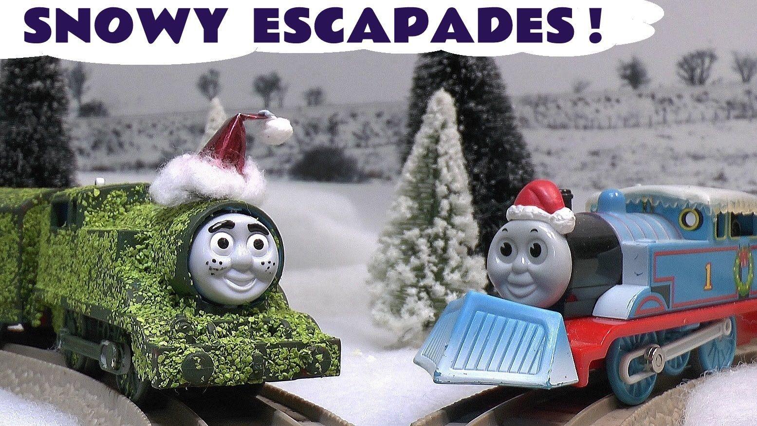 Thomas The Train Christmas.Thomas The Train Christmas Prank Toy Accident Story Carols