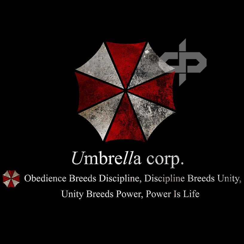Umbrella Corporation Resident Evil Obedience T Shirt This Is