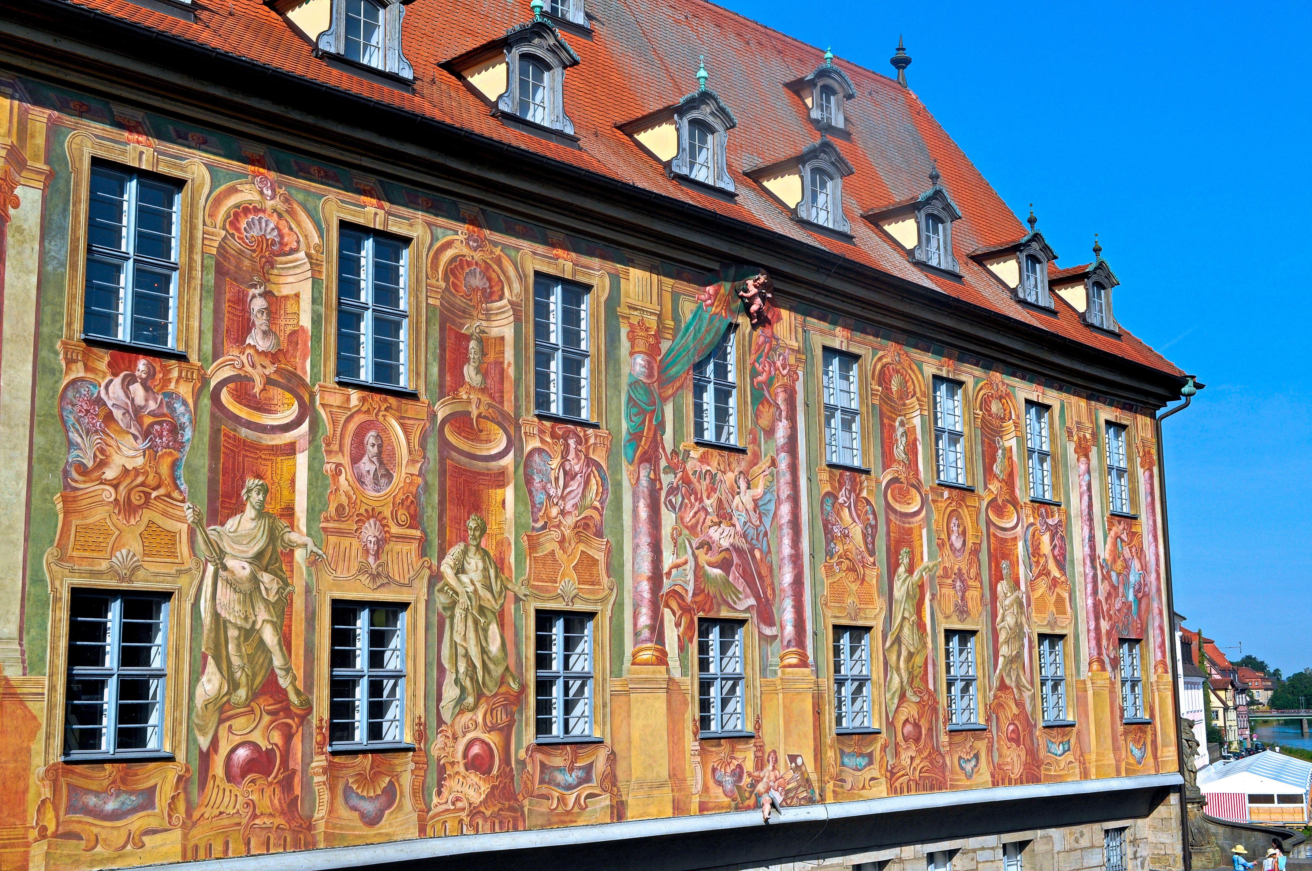 Bamberg Rathaus Fresco The Old Town Hall S Frescoes Never Fail