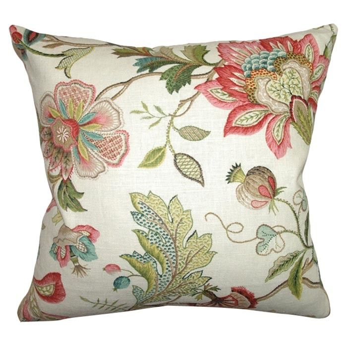 Joss And Main Floral Throw Pillow Covers Green Throw Pillows Floral Throw Pillows