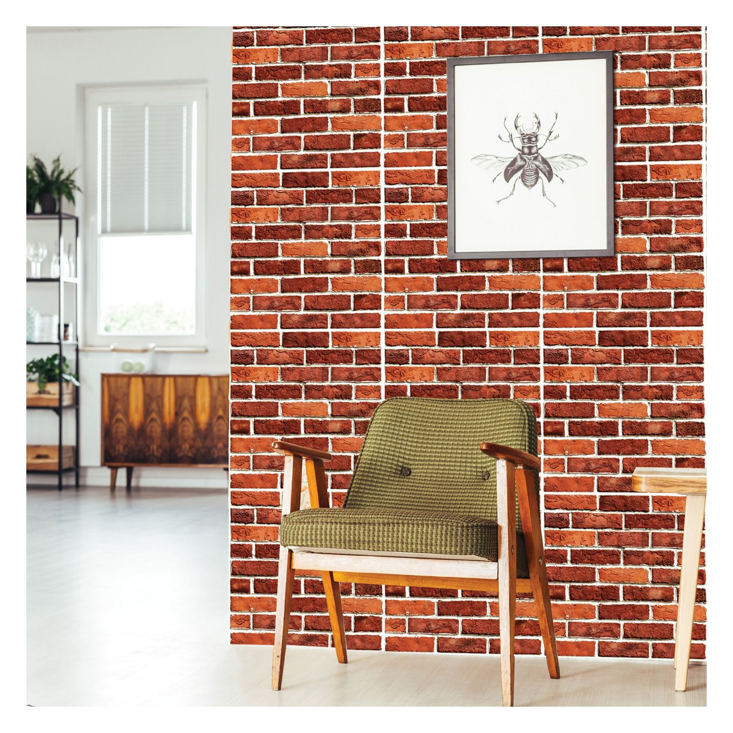 Stone Art 3d Wall Brick Sticker Self Adhesive Removable Wall Du00e9cor For Bathroom Bedroom Living Room Spon Removable Brick Wallpaper Brick Wallpaper 3d Wall
