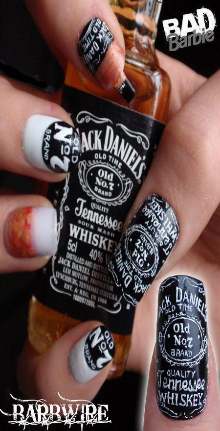jack daniels nails   jack daniels dp   Pinterest   Jack daniels