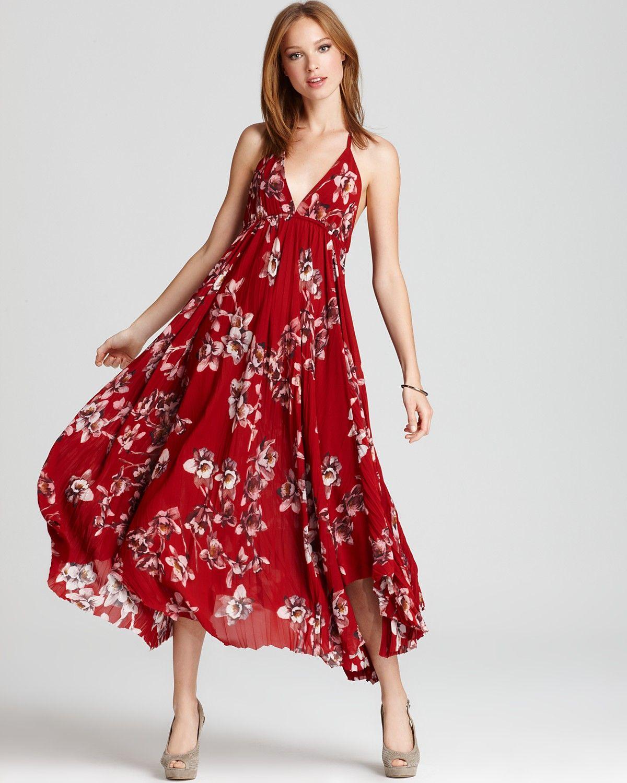 b5419405f70 Alice + Olivia Maxi Dress - Caley Halter Print