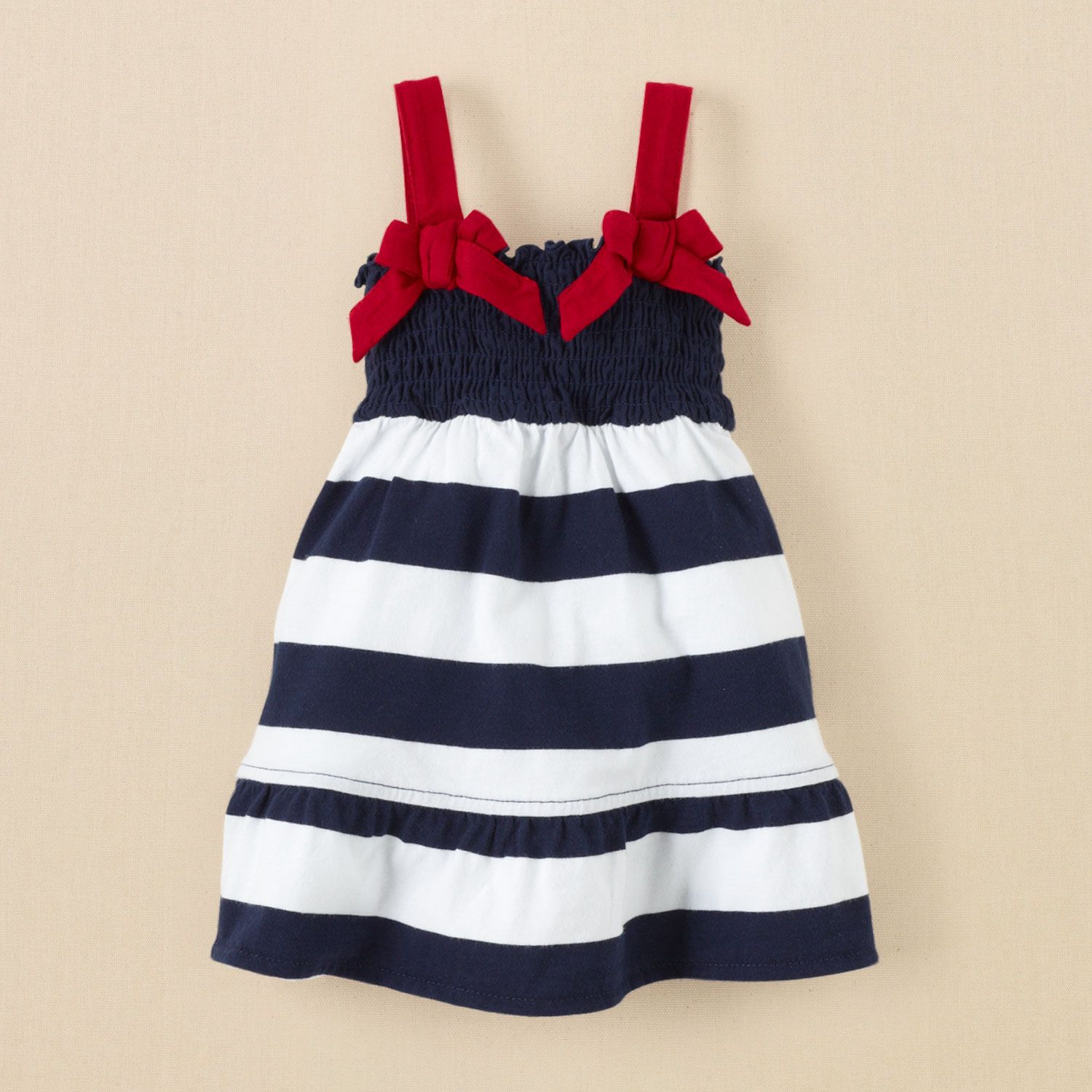 newborn girls Americana dress