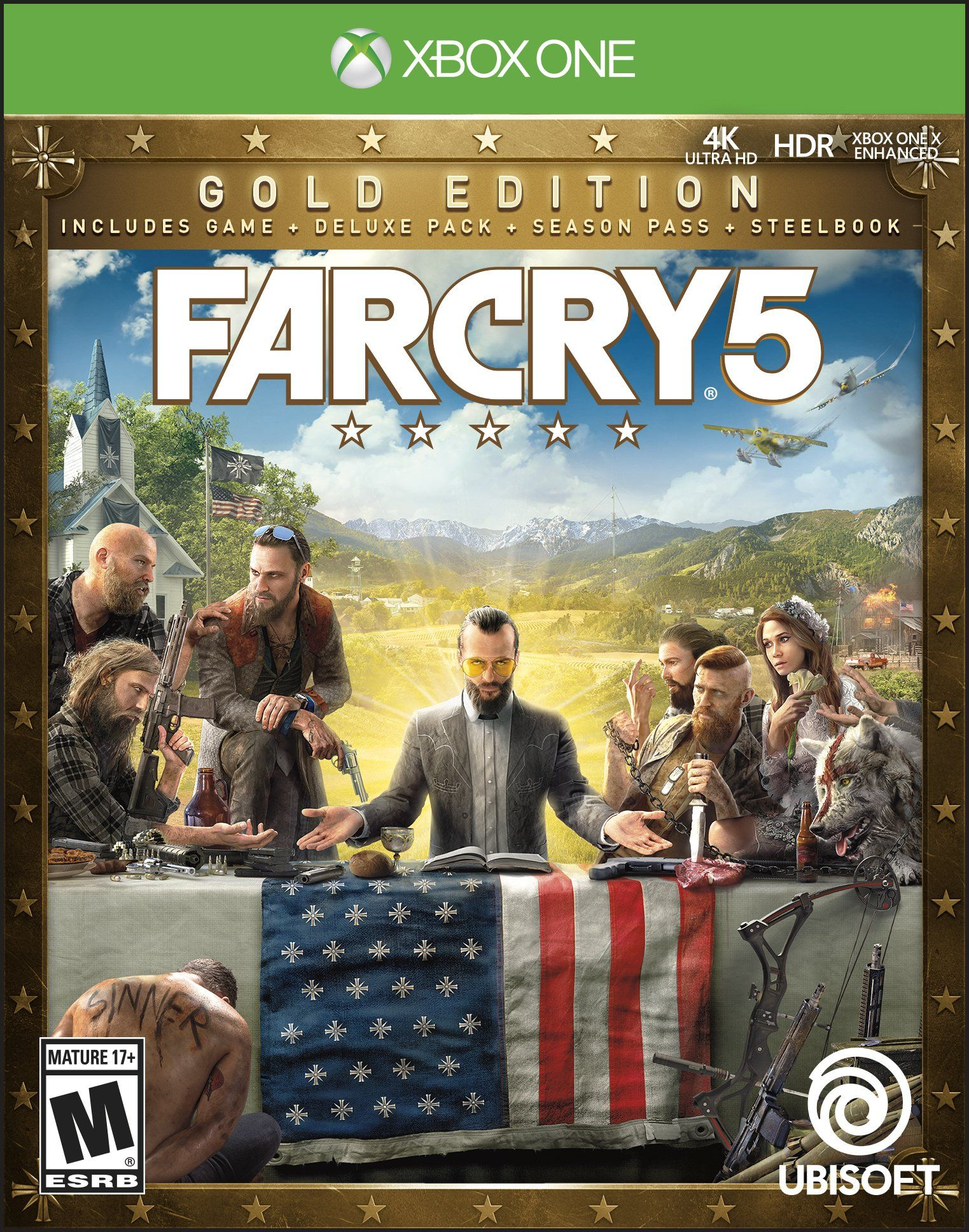 Far Cry 5 Steelbook Gold Edition Far Cry 5 Game Far Cry 5 Far Cry 5 Ps4