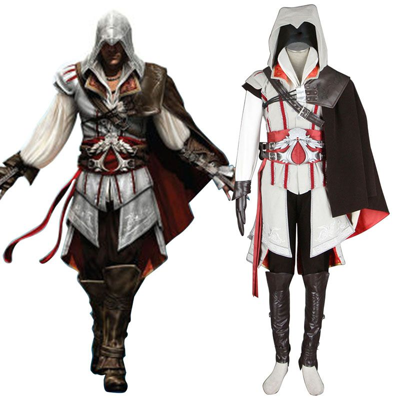 Assassins Creed Ii Assassin 2nd Cosplay Costumes Assassins Creed