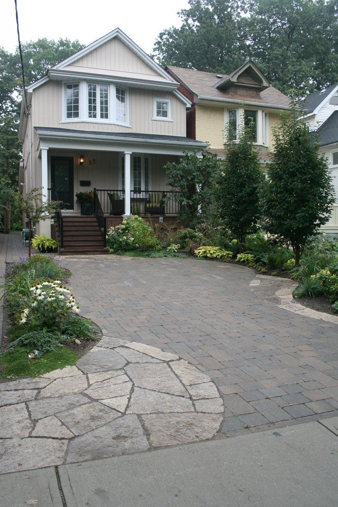 yards front porch yard landscaping landscaping ideas flagstone yard