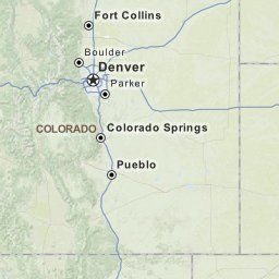 Driving Directions from Green Valley, Arizona to Denver ...