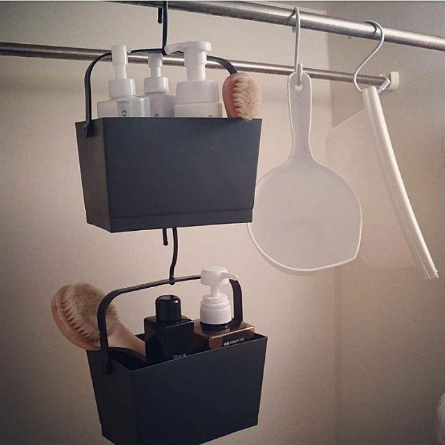 ちょっと使えていろいろ収納 セリアのカゴ バスケット お風呂 おもちゃ バスルームのインテリア 収納 セリア