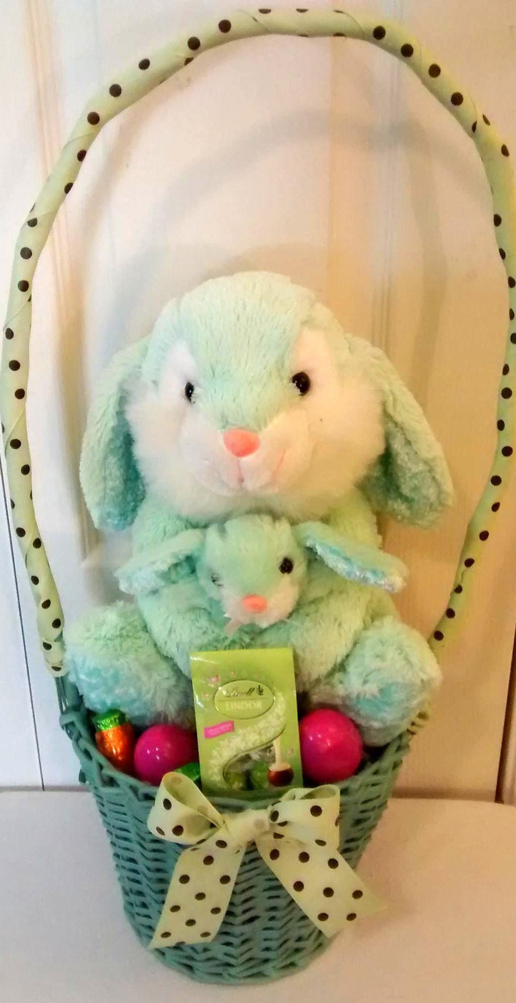 Light blue mom baby bunny easter gift basket 25 all payments light blue mom baby bunny easter gift basket 25 all payments through paypal please message negle Choice Image