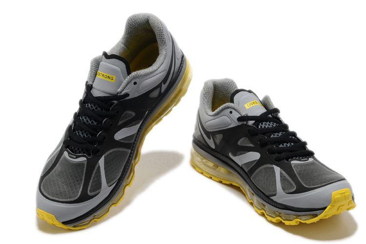 fa716a7a1020 Running Shoes Nike · Nike-Air-Max-2012-Cheap-Yellow-Black-Grey
