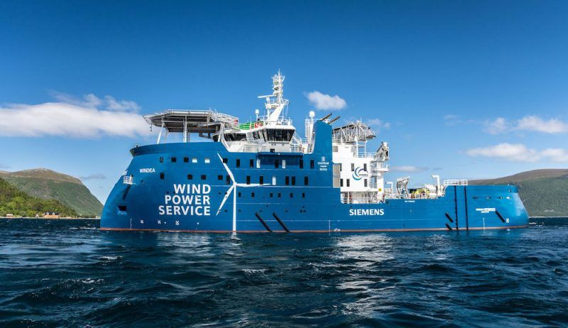Ship Photos Of The Day Ulstein Delivers First X Stern Wind Farm Service Vessel In 2020 Offshore Wind Farms Wind Farm Super Yachts