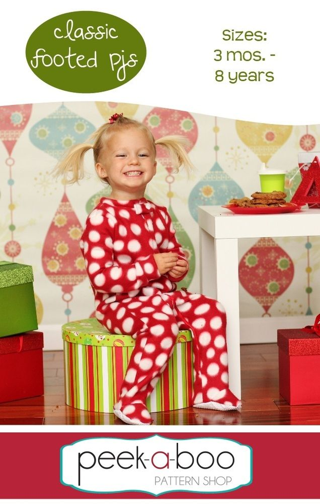 c8452a01e Classic Footed Pajamas 3 Months - 8 Years
