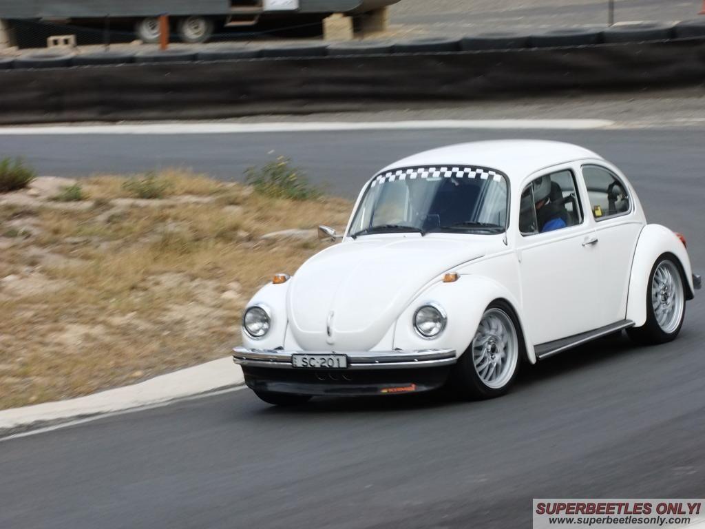 Track Day Super Beetle 1303 Volkswagen Beetle Custom Cars Volkswagen