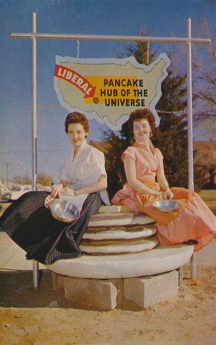 mattadoresit:    Liberal, Kansas - Pancake Hub of The Universe