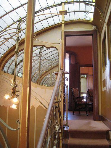 Victor Horta & Art Nouveau -talot, Bryssel, Belgia