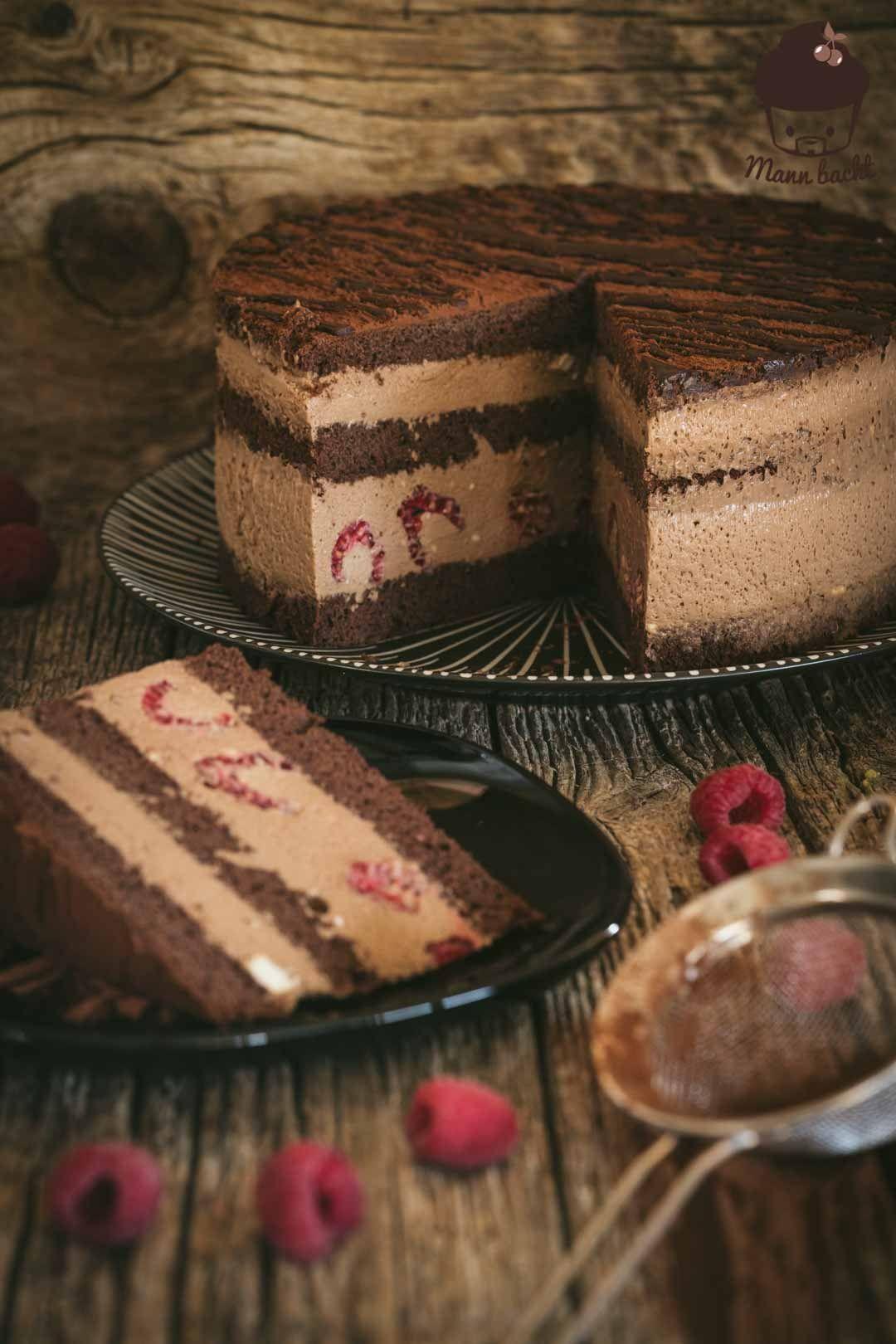 Mousse au Chocolaté Torte #chocolate