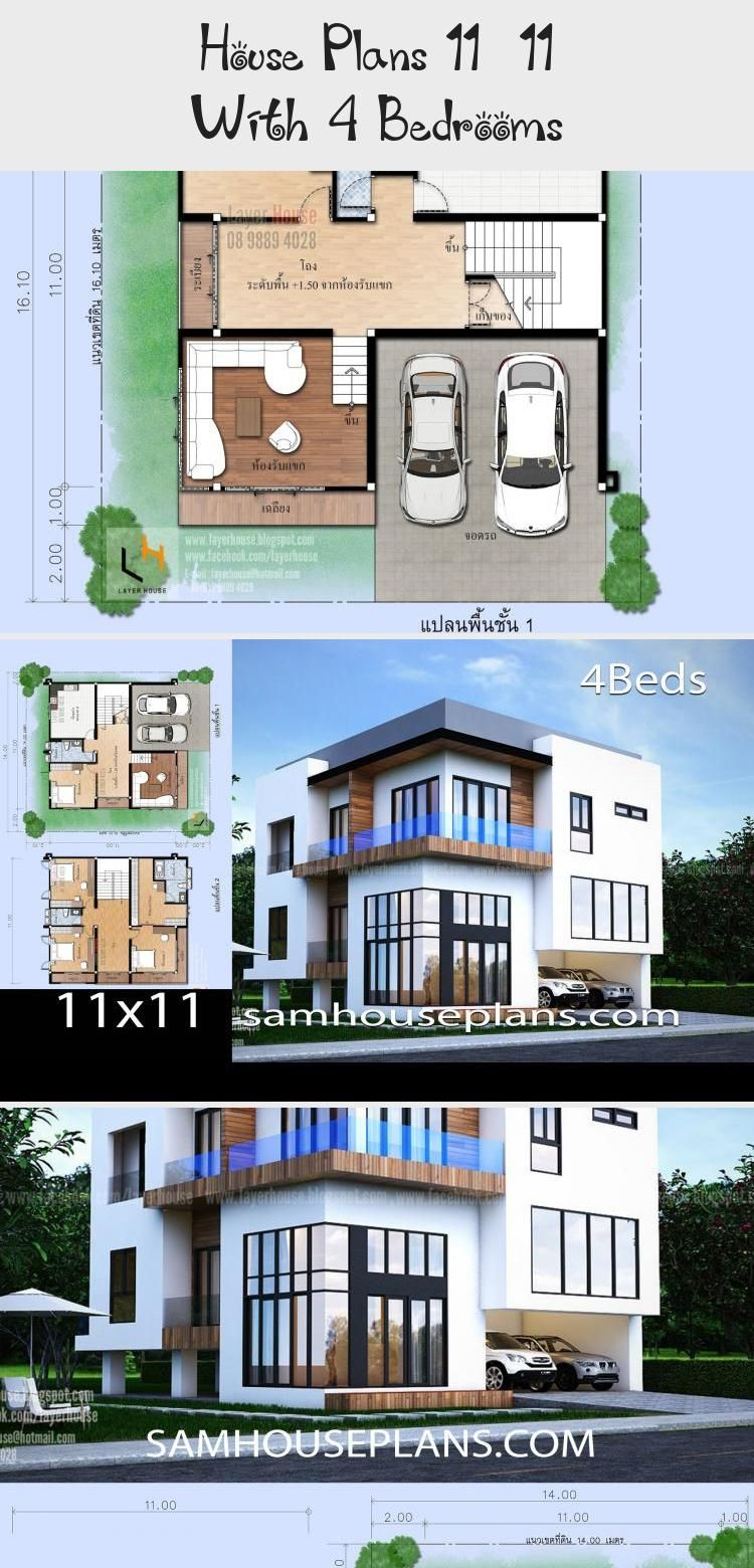 House Plans 11x11 With 4 Bedrooms Sam House Plans Floorplans4bedroomwithoffice Polebarnfloorplans4bedroom Floorplan In 2020 House Plans Floor Plan 4 Bedroom House