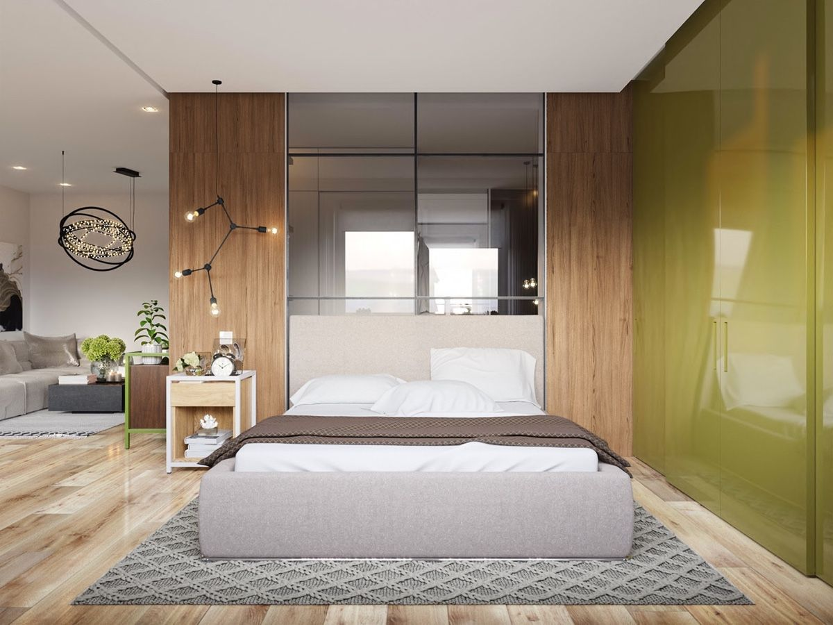 Modern Bedroom Ideas With Wooden Scheme Design Bring Out A Trendy ...