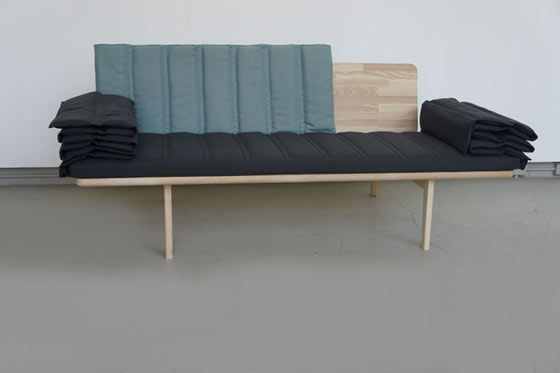 Douglas Leckie S Tri Fold Bench For Modern Office Es