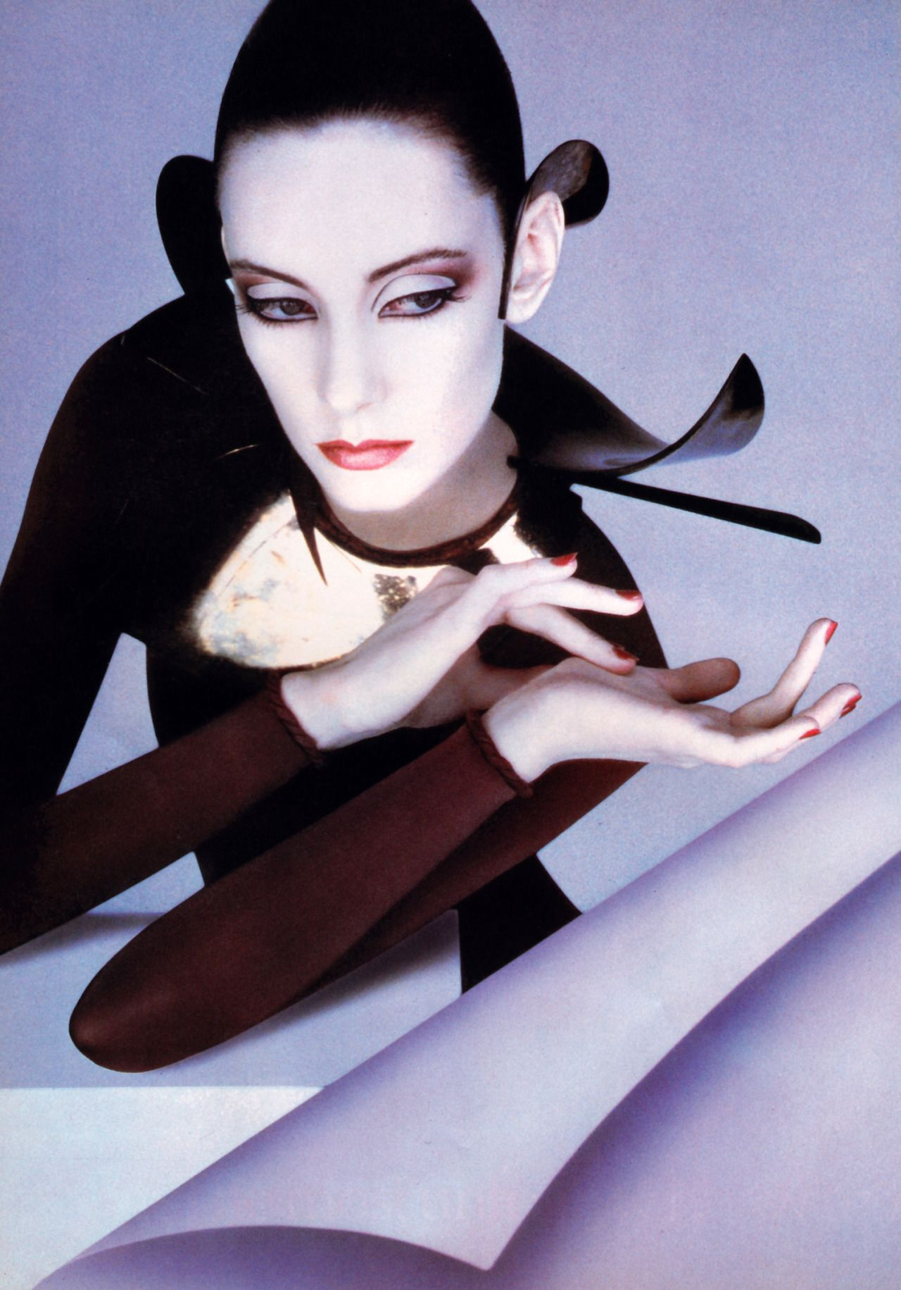 Serge Lutens High fashion makeup, Fashion pictures
