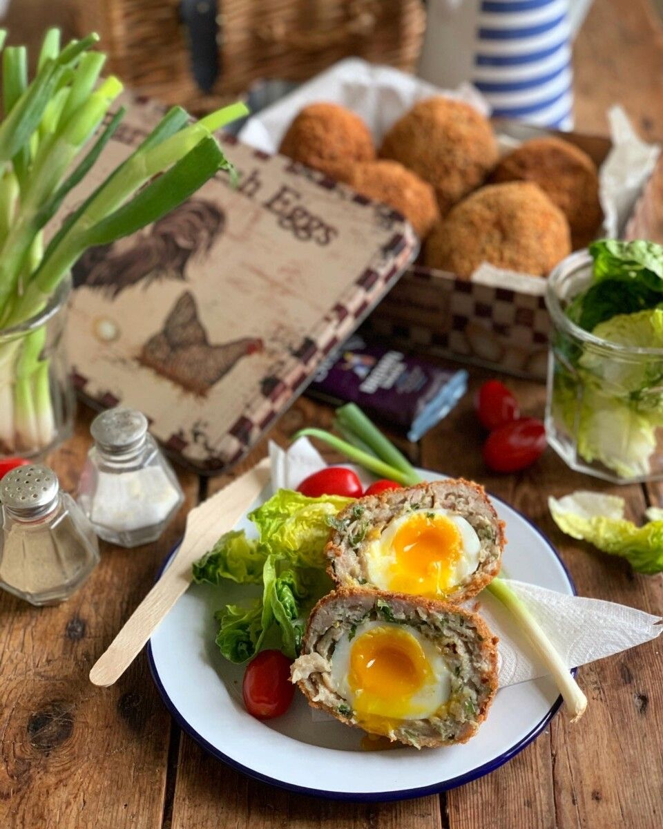 Easy Homemade Scotch Eggs - Lavender and Lovage